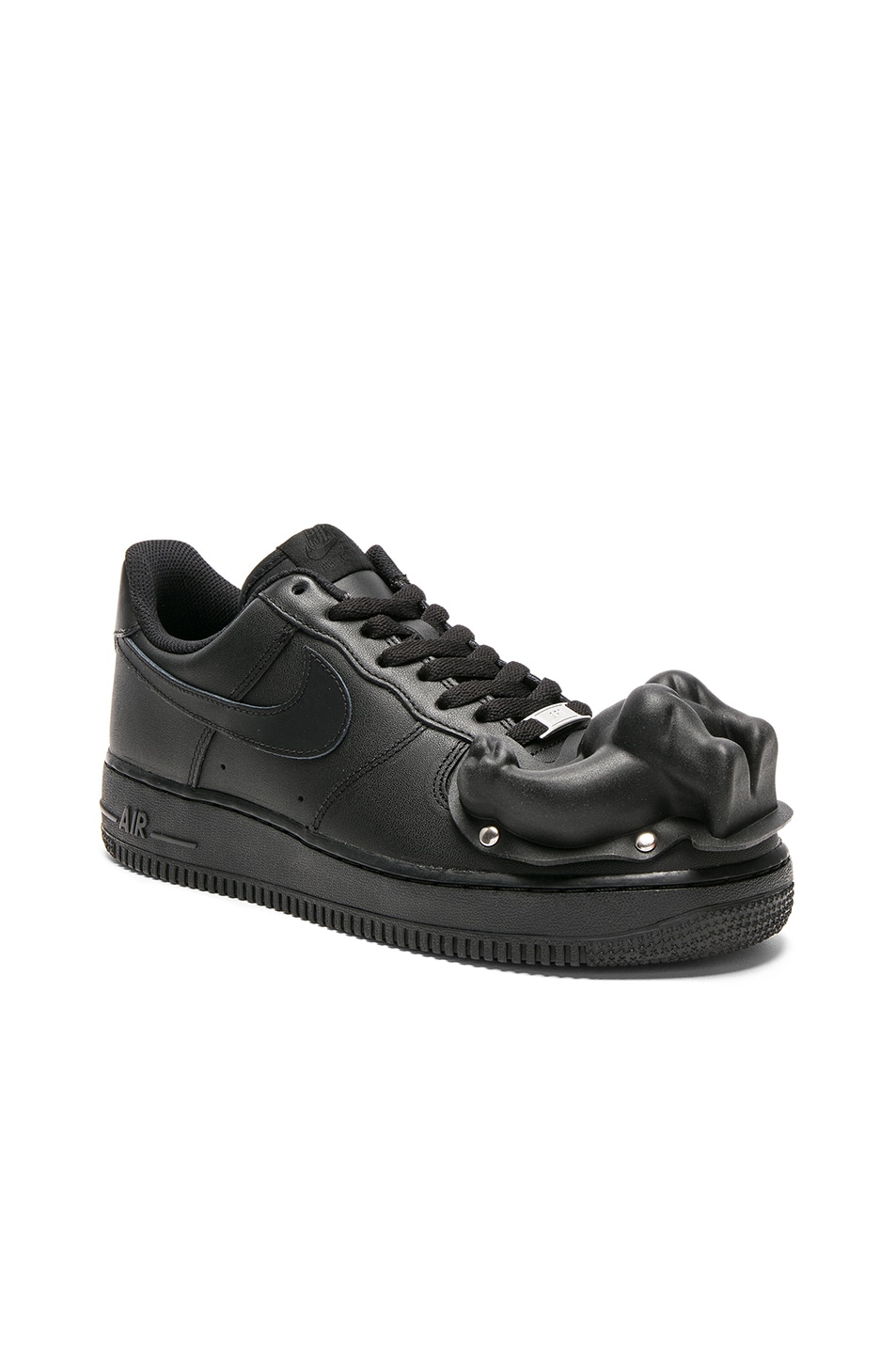 best loved 47b60 e2121 Image 2 of Comme Des Garcons Homme Plus Nike Air Force 1 CDG Custom in Black