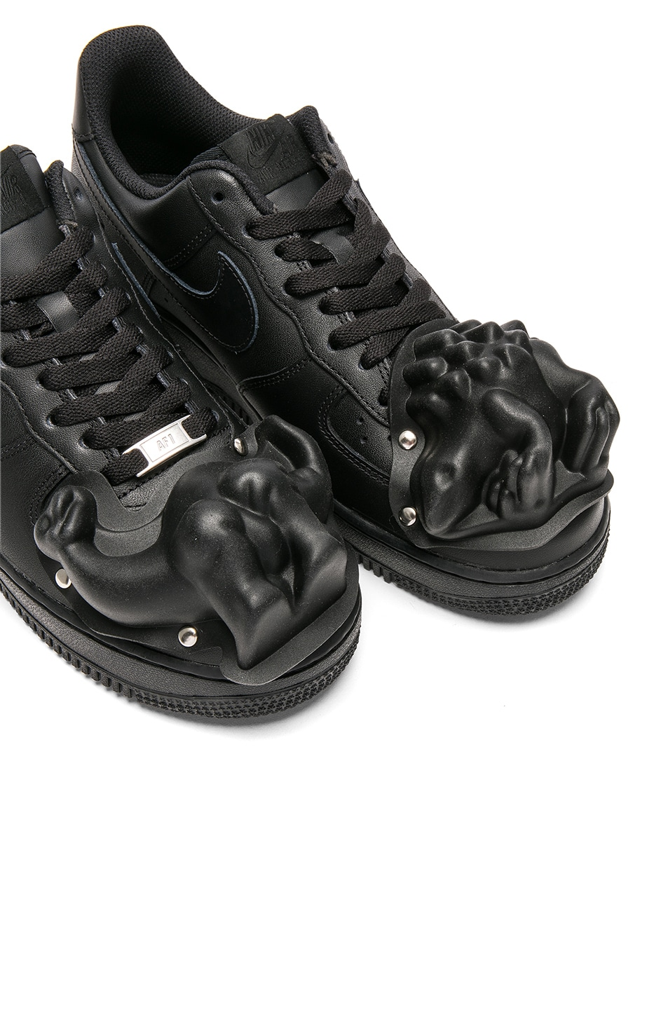 separation shoes c810e e7f83 Image 7 of Comme Des Garcons Homme Plus Nike Air Force 1 CDG Custom in Black
