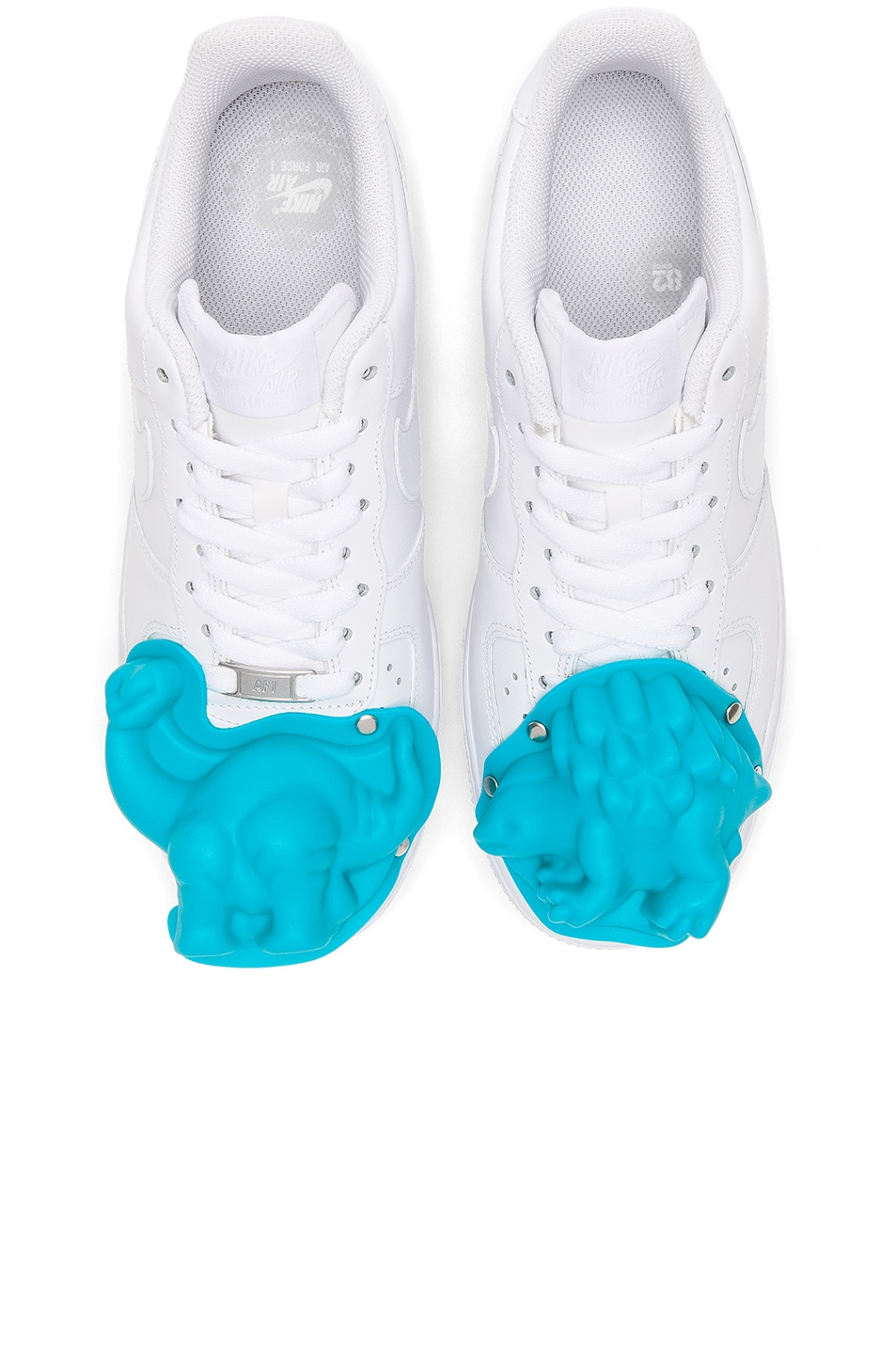 07b132f3d77f1 Image 1 of Comme Des Garcons Homme Plus Nike Air Force 1 CDG Custom in White