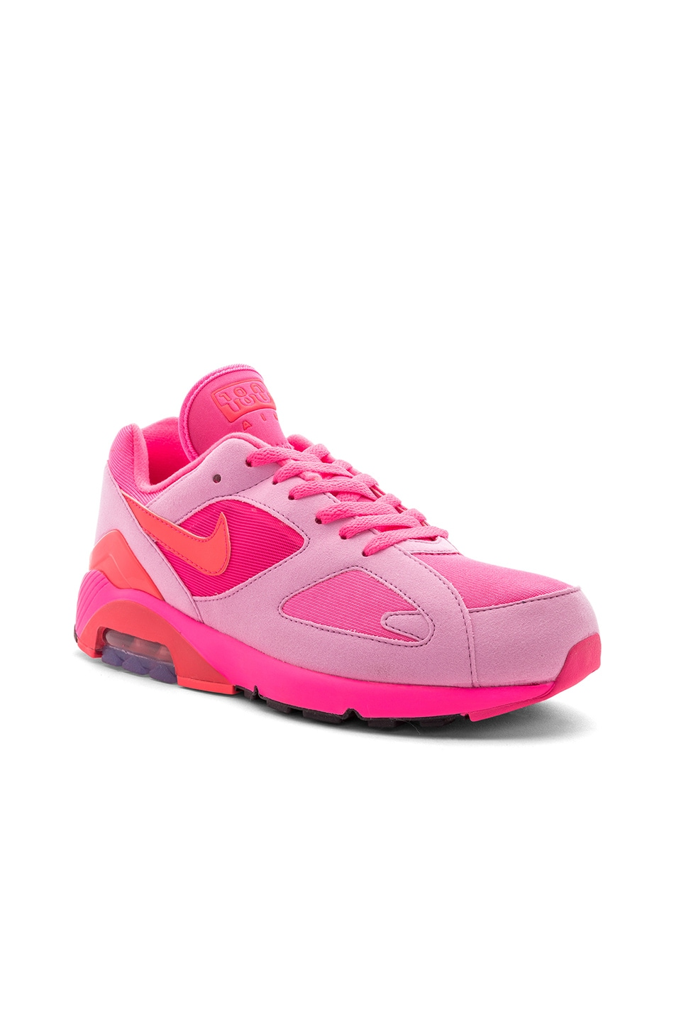 separation shoes 65836 28e92 Image 1 of Comme Des Garcons Homme Plus x Nike Air Max 180 in Pink