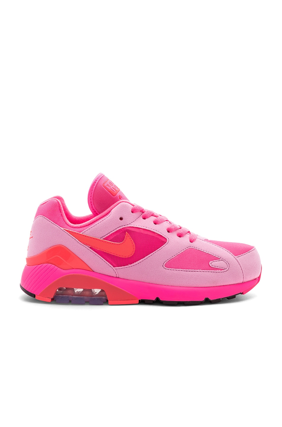 outlet store 0ce6b 21c3a Image 2 of Comme Des Garcons Homme Plus x Nike Air Max 180 in Pink