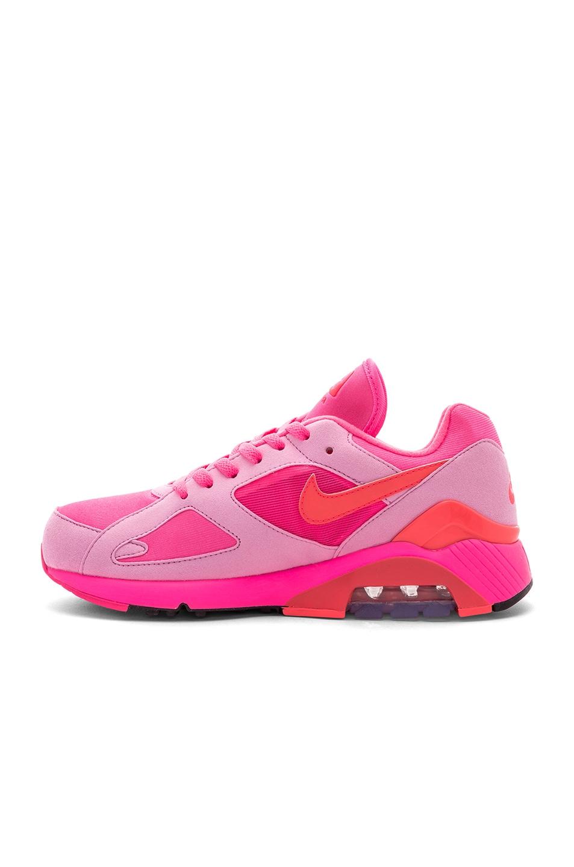 97af47ba968 Image 5 of Comme Des Garcons Homme Plus x Nike Air Max 180 in Pink