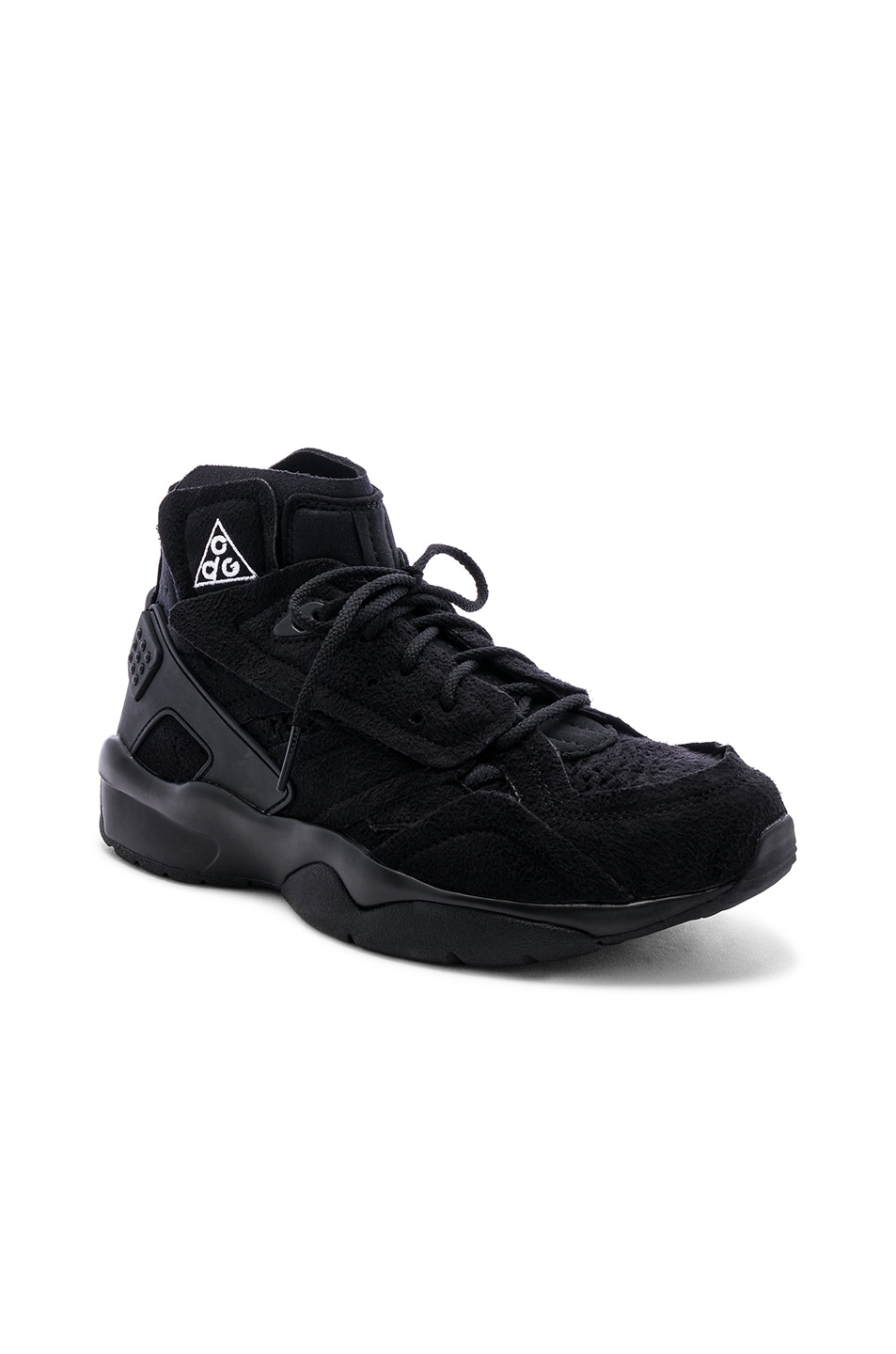 best sneakers 5256a a2a29 Image 1 of Comme Des Garcons Homme Plus x NIKE ACG Mowabb in Black