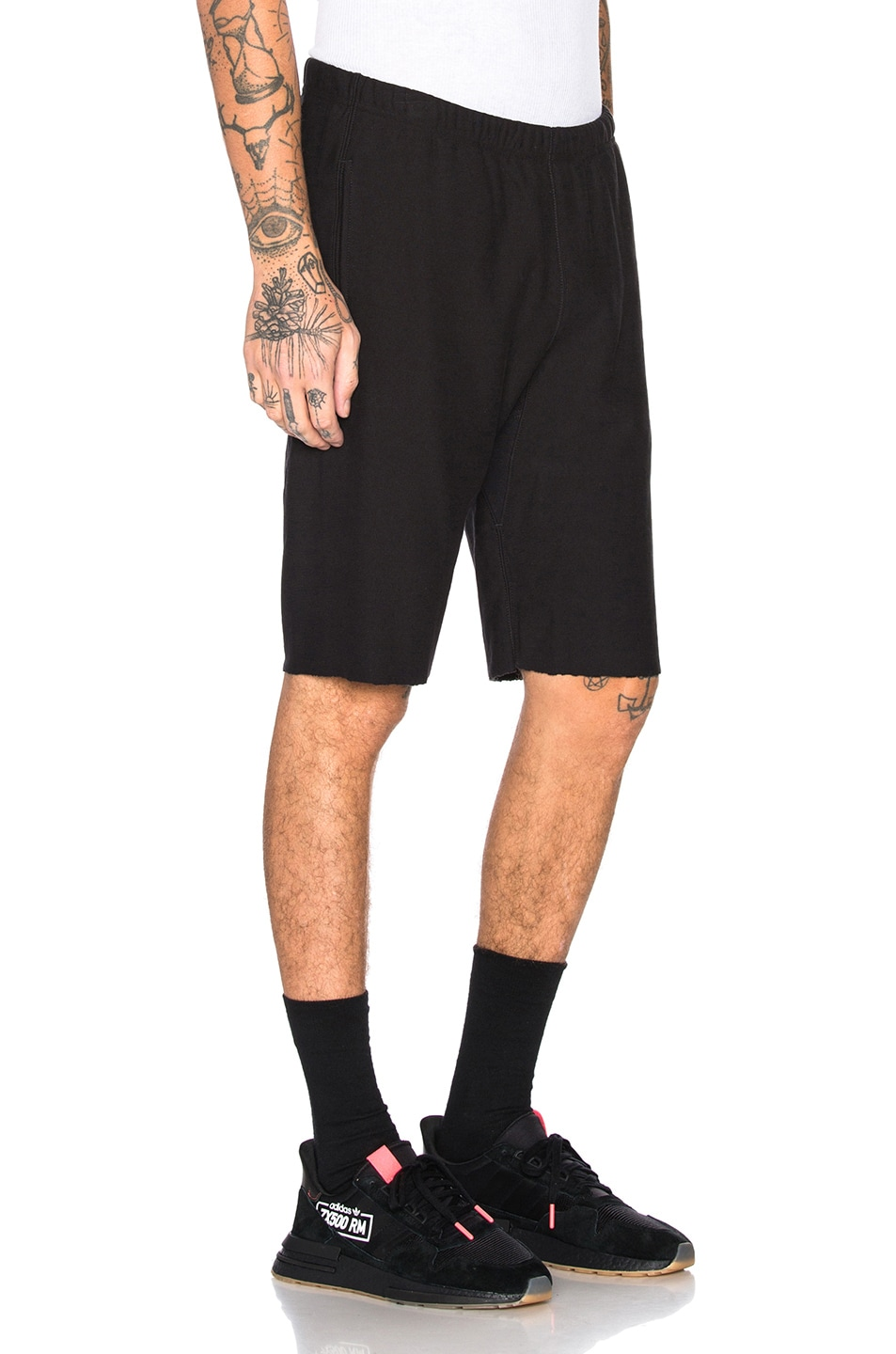 Image 3 of Champion Reverse Weave Champion Bermuda Shorts in Black