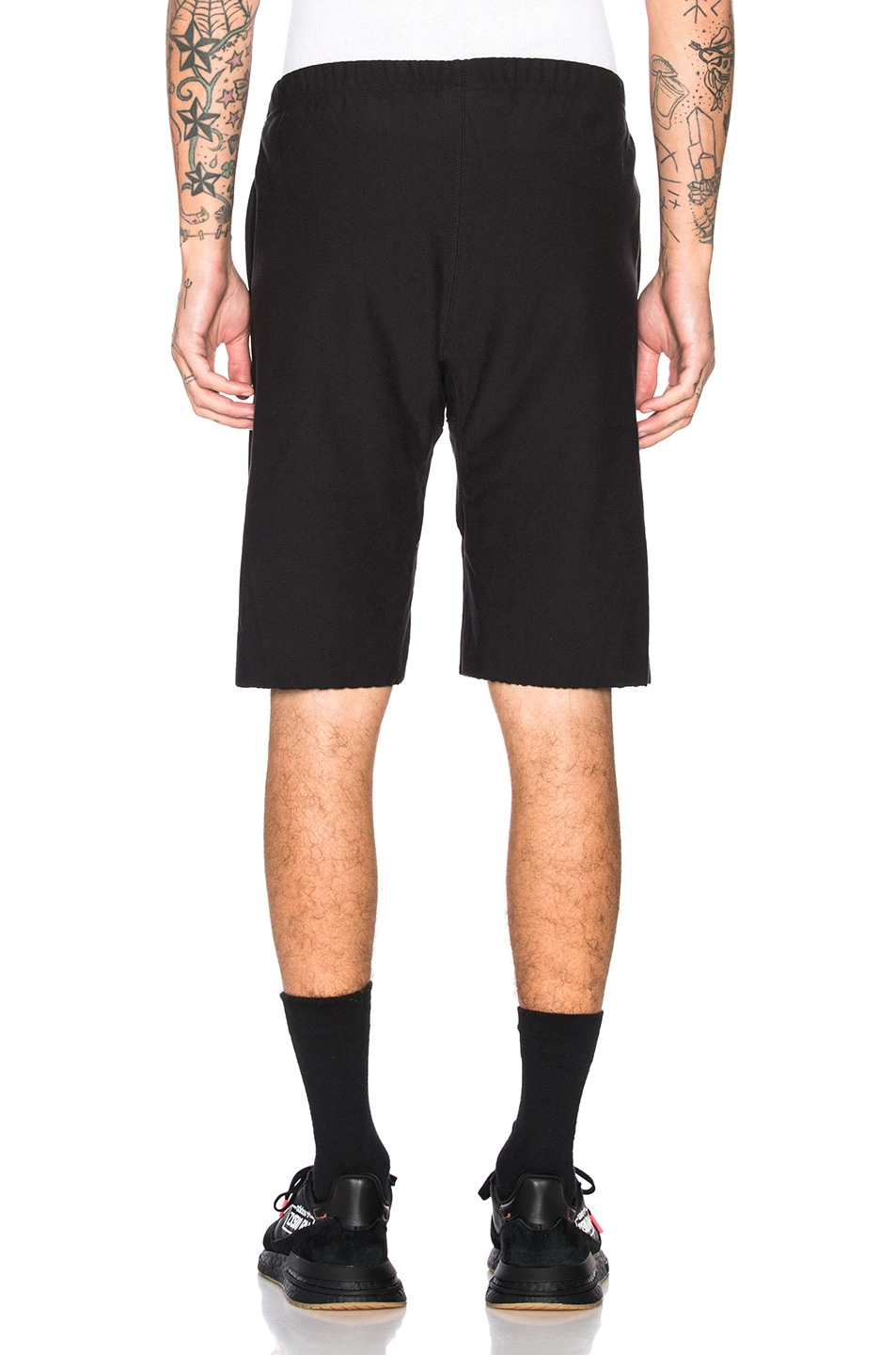 Image 4 of Champion Reverse Weave Champion Bermuda Shorts in Black