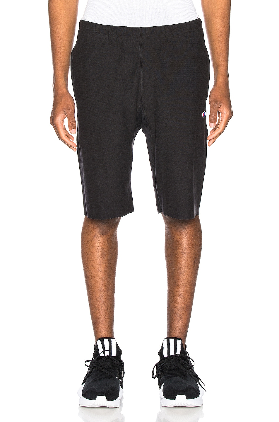 Image 1 of Champion Reverse Weave Bermuda Short in Black