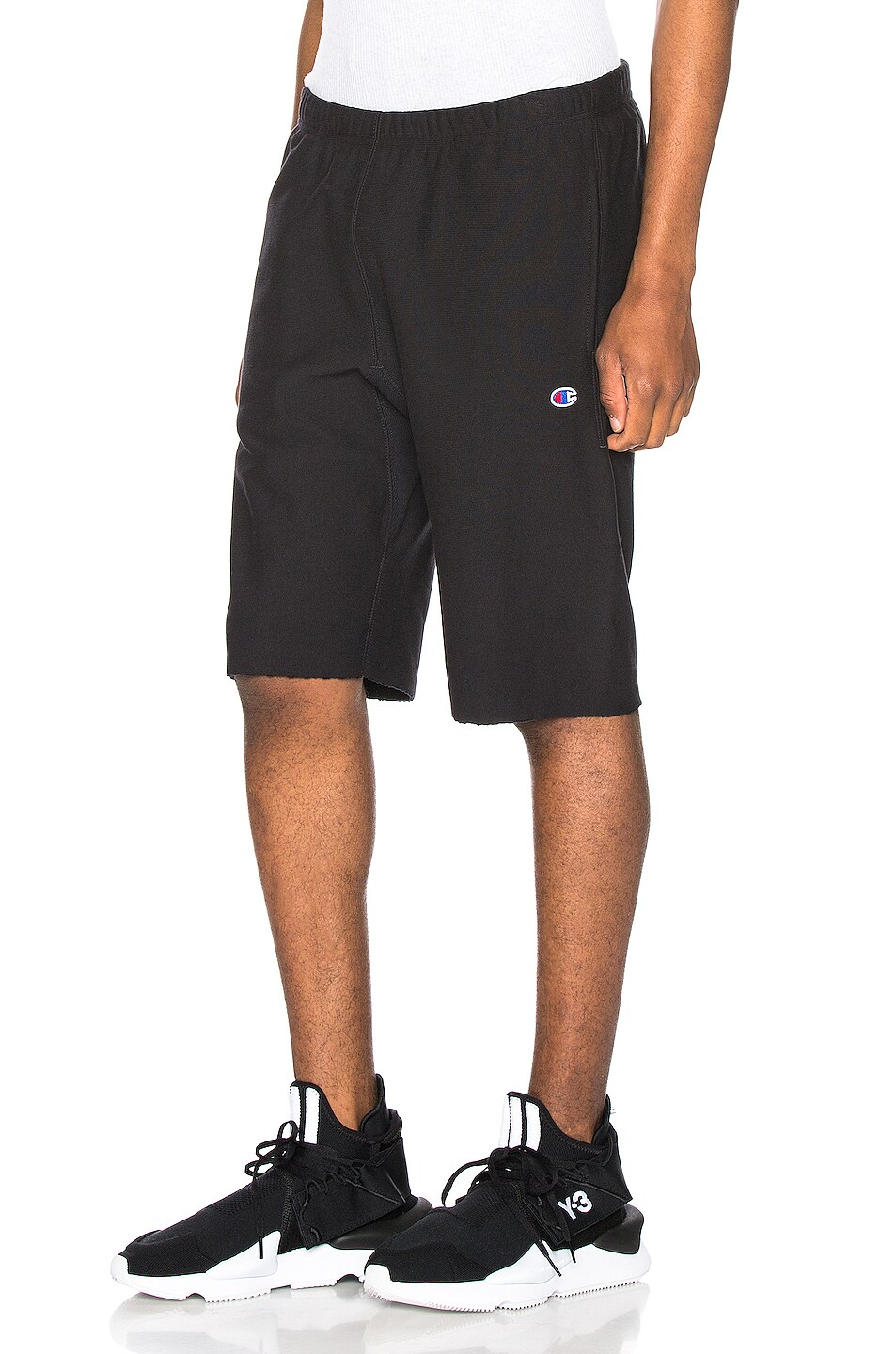 Image 3 of Champion Reverse Weave Bermuda Short in Black