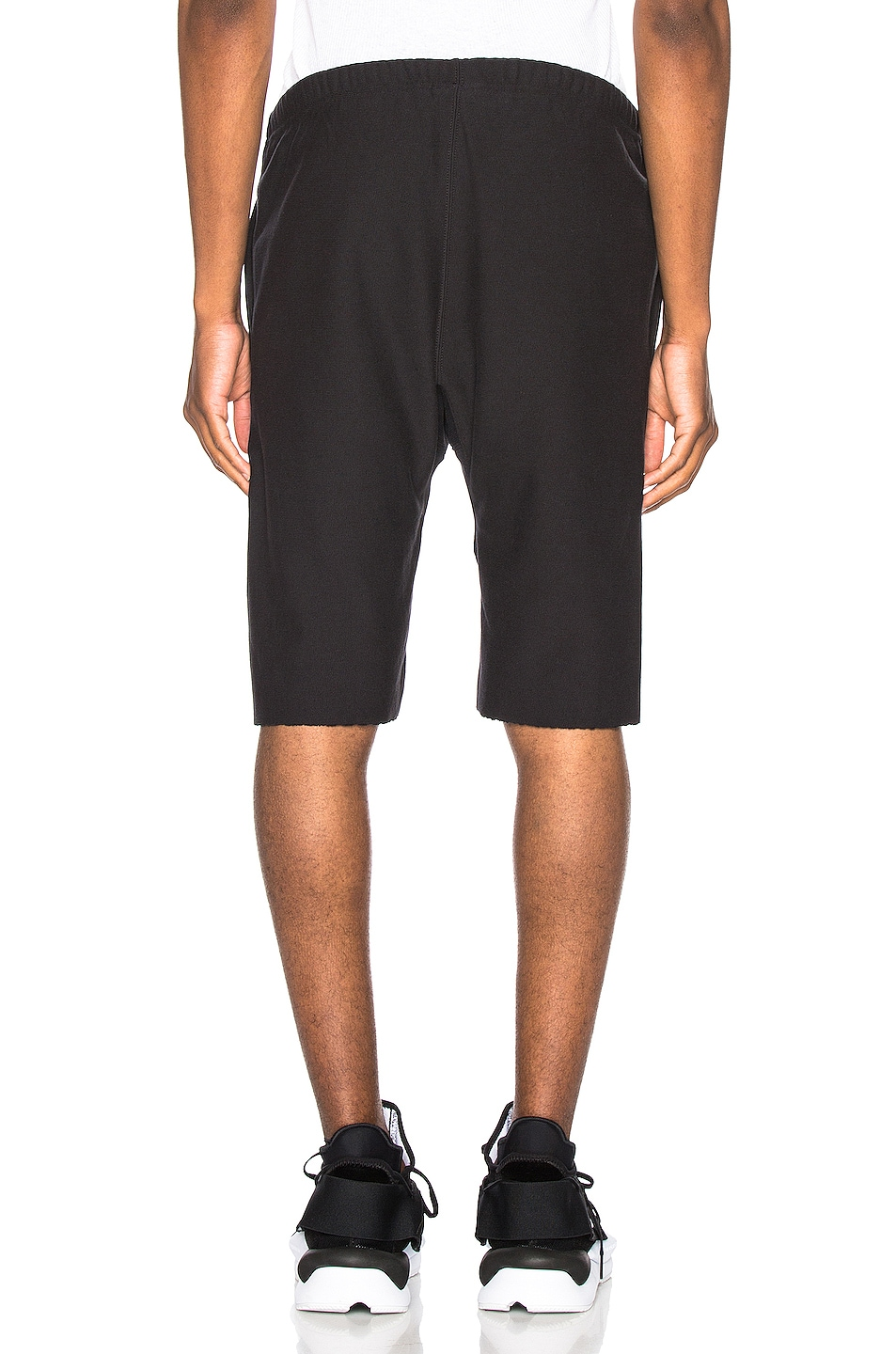 Image 4 of Champion Reverse Weave Bermuda Short in Black