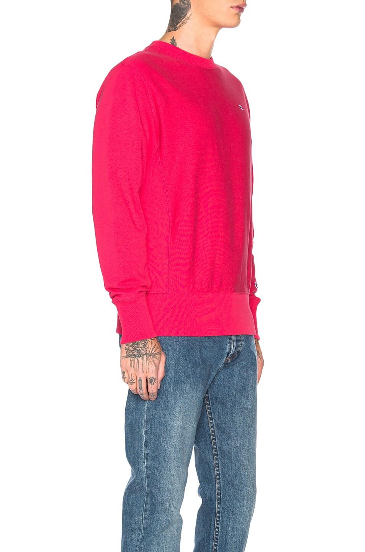 Image 2 of Champion Reverse Weave Champion Crewneck Sweatshirt in Aza