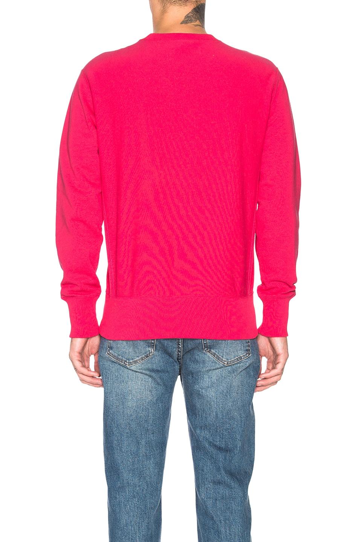 Image 3 of Champion Reverse Weave Champion Crewneck Sweatshirt in Aza