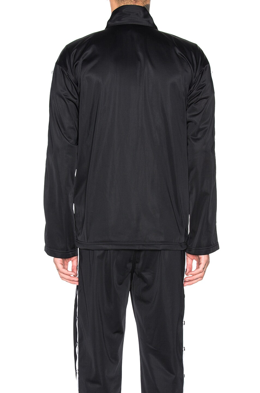 Image 4 of Champion Reverse Weave Champion Full Zip Jacket in Black & White