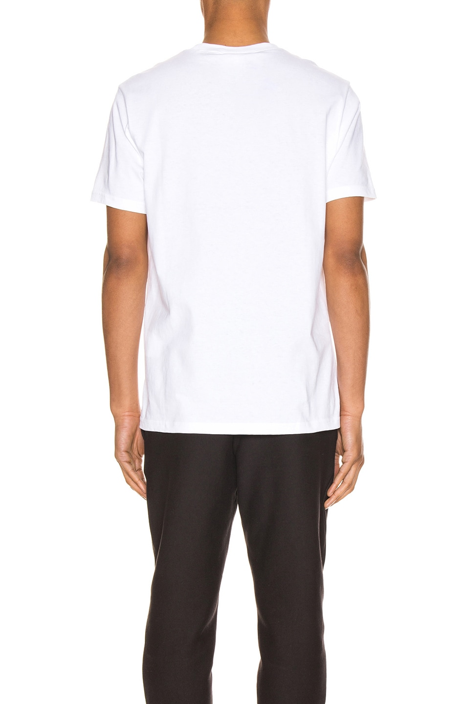 Image 4 of Champion Reverse Weave Centenary T-Shirt in White