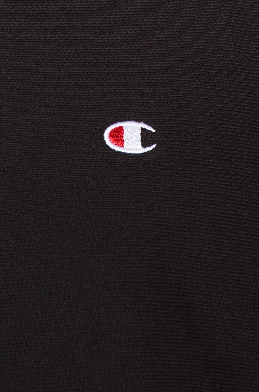Image 5 of Champion Reverse Weave Crewneck Sweatshirt in Black