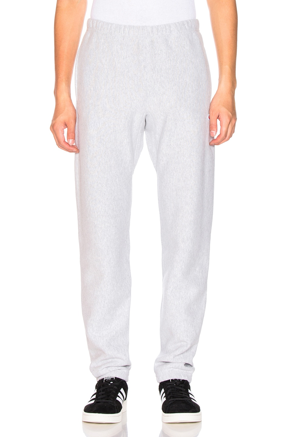 Image 2 of Champion Reverse Weave Elastic Cuff Pant in Grey