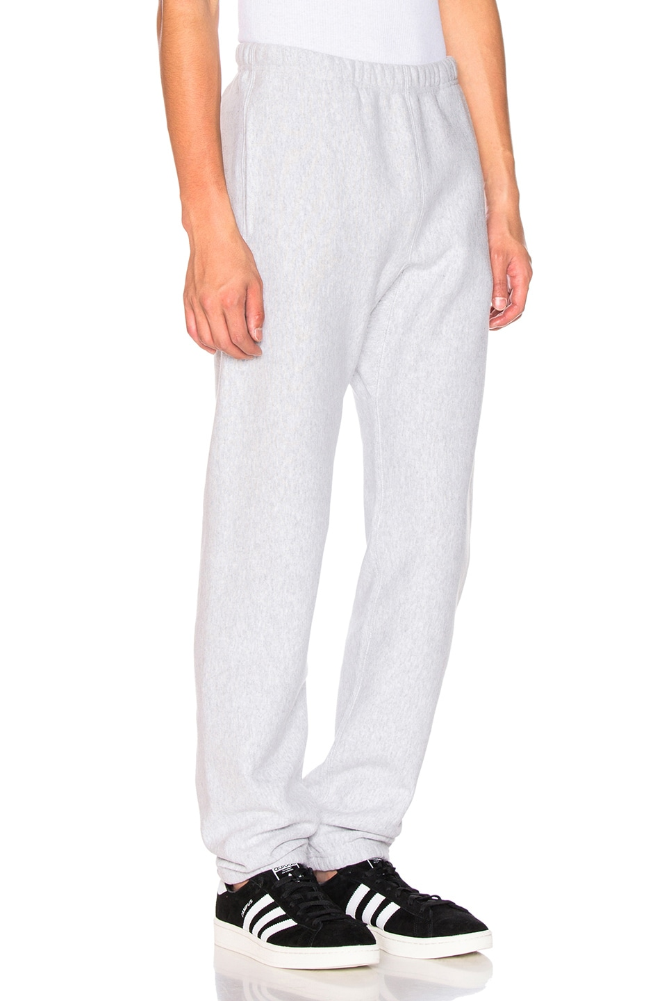 Image 3 of Champion Reverse Weave Elastic Cuff Pant in Grey