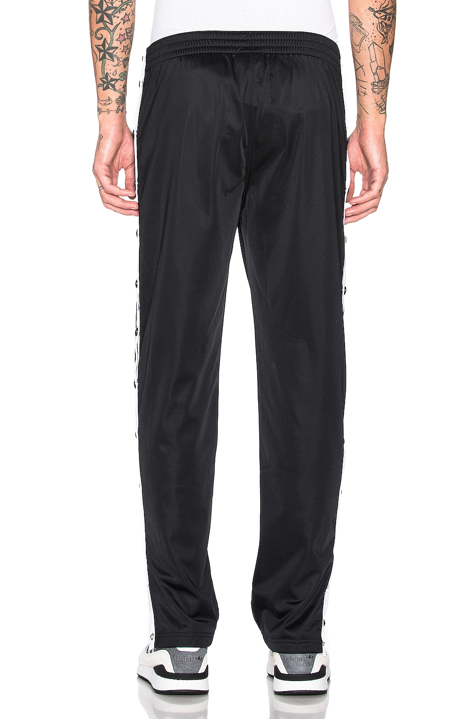 Image 4 of Champion Reverse Weave Champion Pants in Black & White