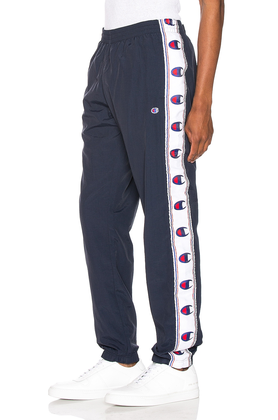 Image 1 of Champion Reverse Weave Elastic Cuff Pant in Navy