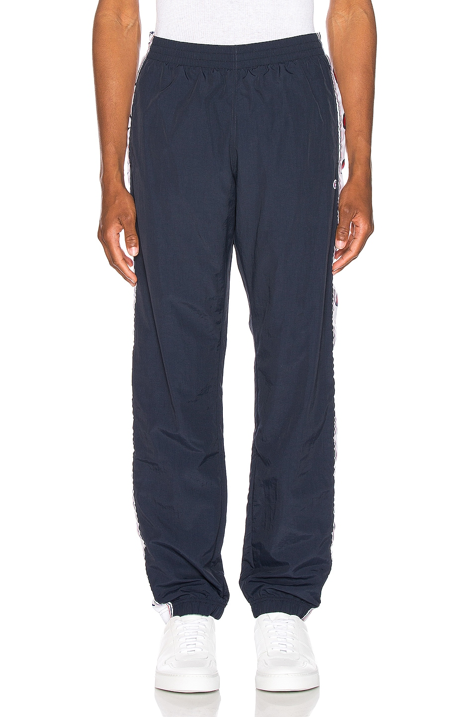 Image 2 of Champion Reverse Weave Elastic Cuff Pant in Navy