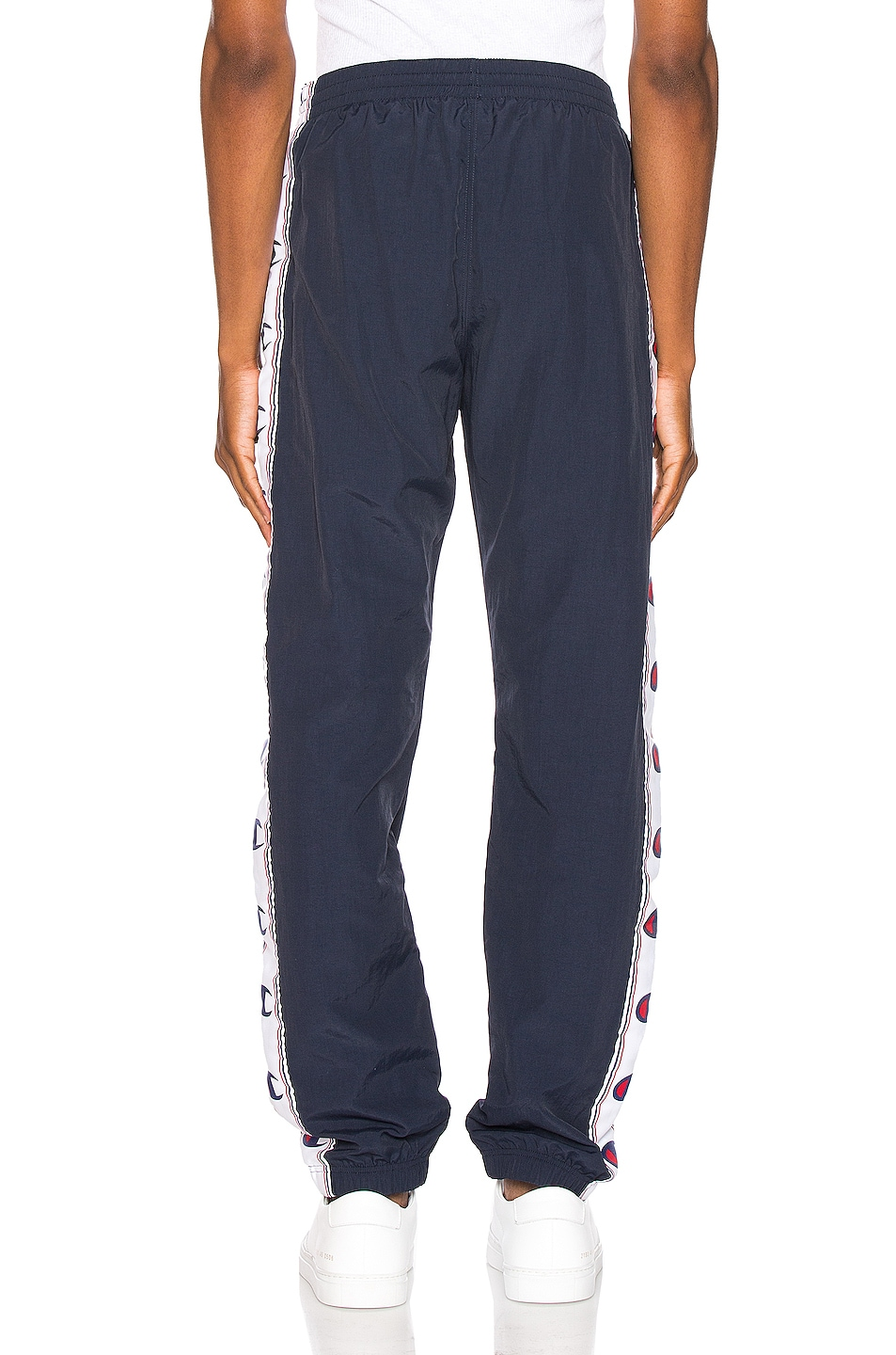 Image 4 of Champion Reverse Weave Elastic Cuff Pant in Navy