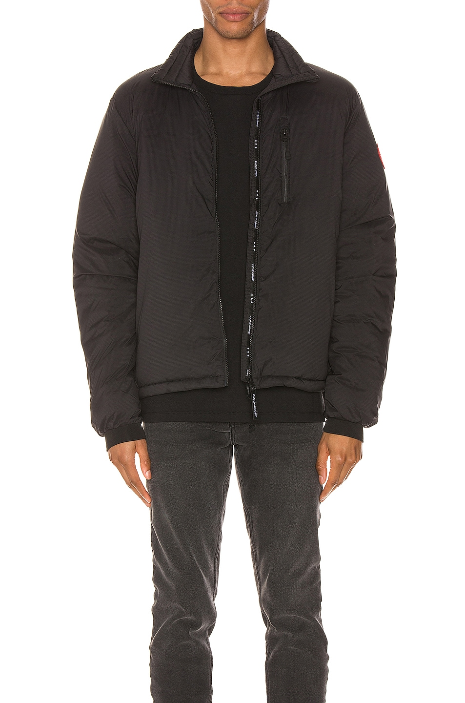 Image 1 of Canada Goose Lodge Jacket in Black