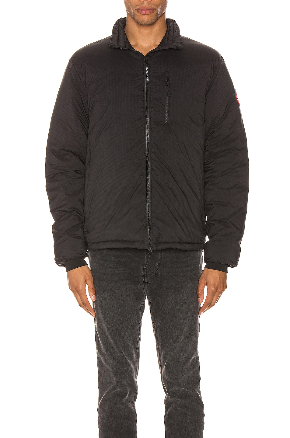 Image 2 of Canada Goose Lodge Jacket in Black