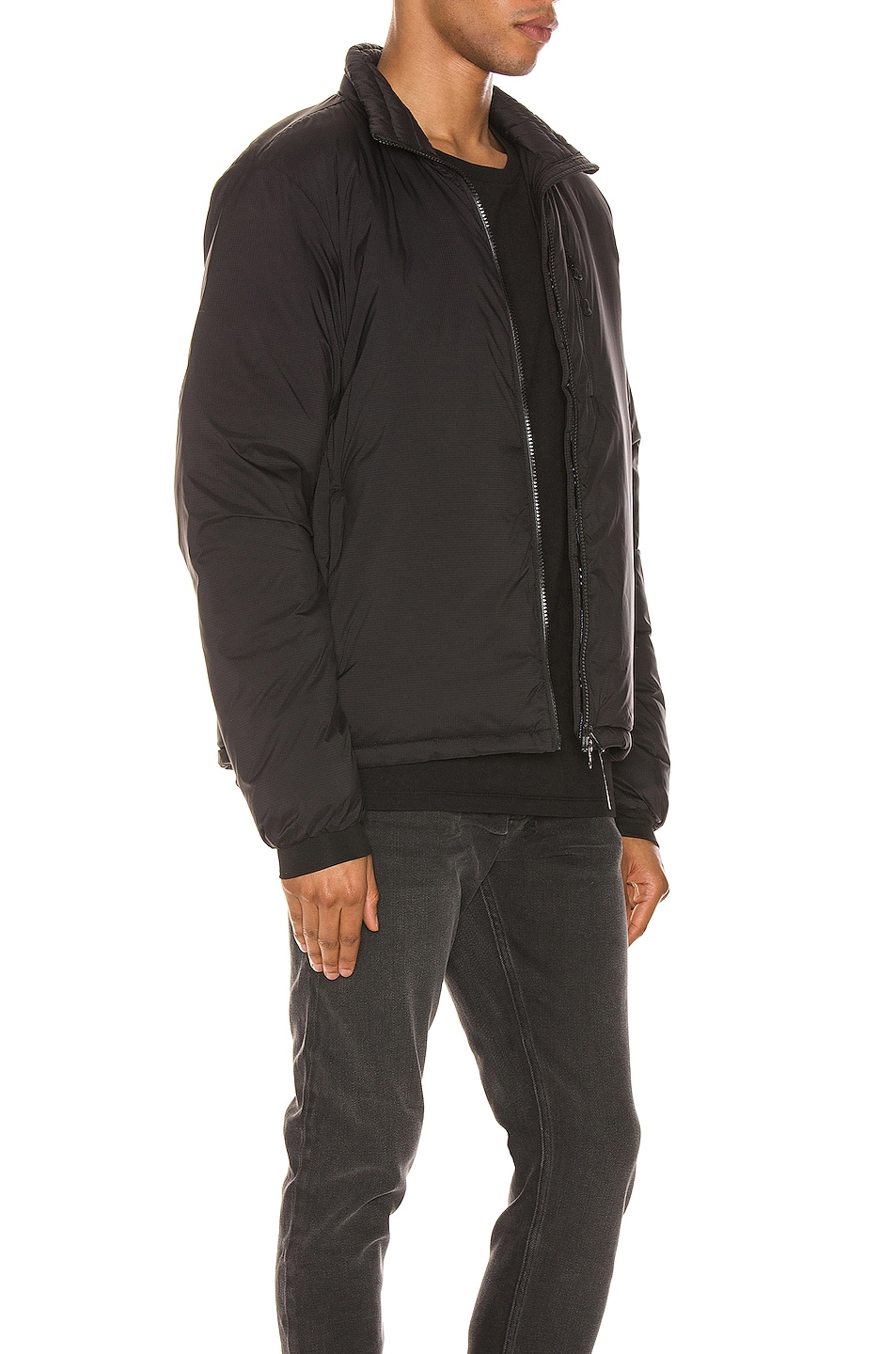 Image 3 of Canada Goose Lodge Jacket in Black
