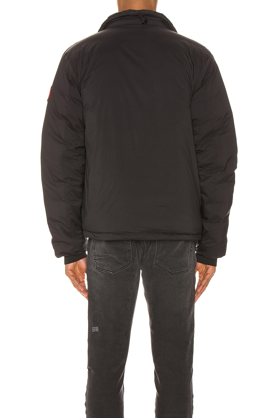 Image 5 of Canada Goose Lodge Jacket in Black