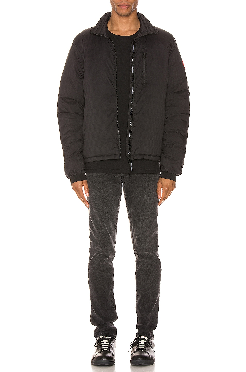 Image 6 of Canada Goose Lodge Jacket in Black