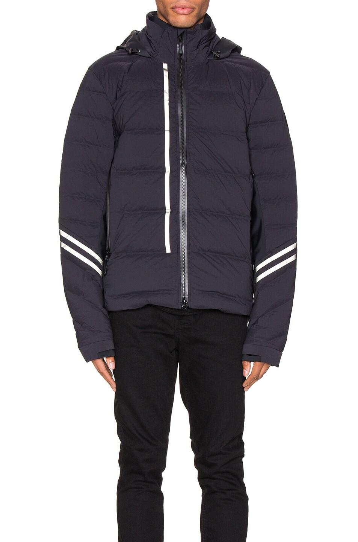 Image 2 of Canada Goose Black Label Hybridge CW Jacket in Black