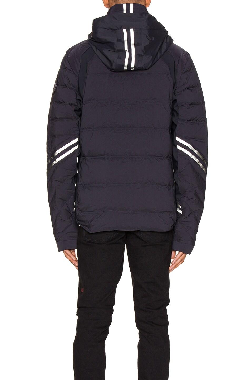 Image 4 of Canada Goose Black Label Hybridge CW Jacket in Black