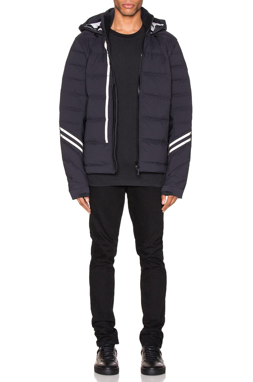 Image 5 of Canada Goose Black Label Hybridge CW Jacket in Black