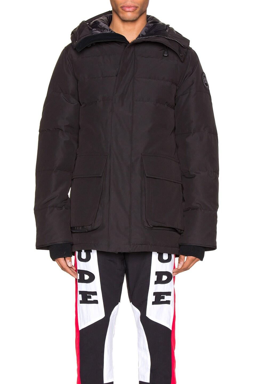 Image 2 of Canada Goose Black Label Wedgemont Parka in Black