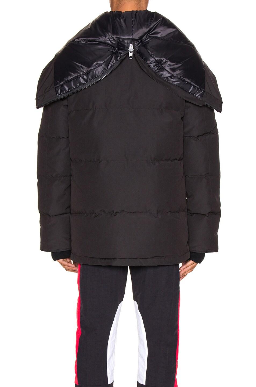 Image 5 of Canada Goose Black Label Wedgemont Parka in Black
