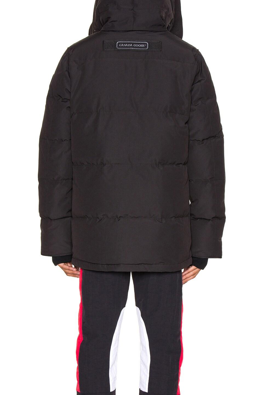 Image 6 of Canada Goose Black Label Wedgemont Parka in Black