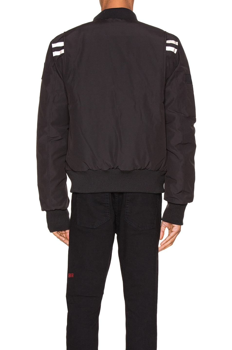 Image 5 of Canada Goose Black Label Kirkfield Bomber in Black