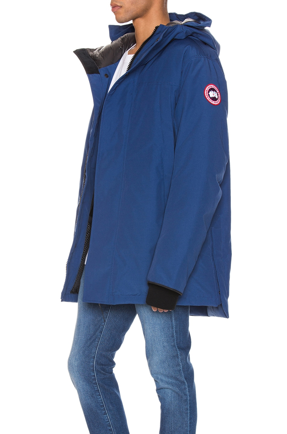 Image 4 of Canada Goose Sanford Parka in Norther Night