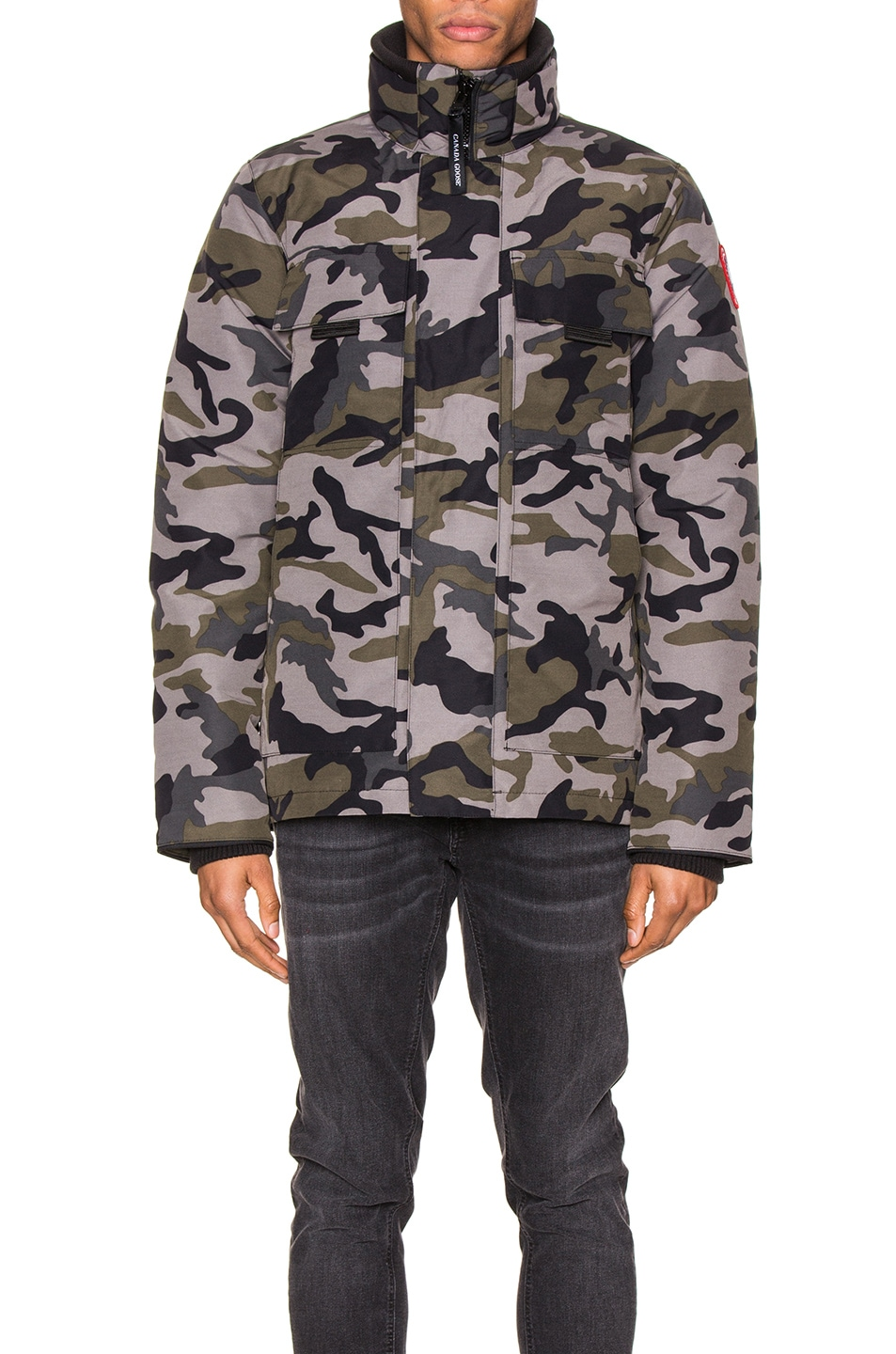Image 2 of Canada Goose Forester Jacket in Coastal Grey Camo
