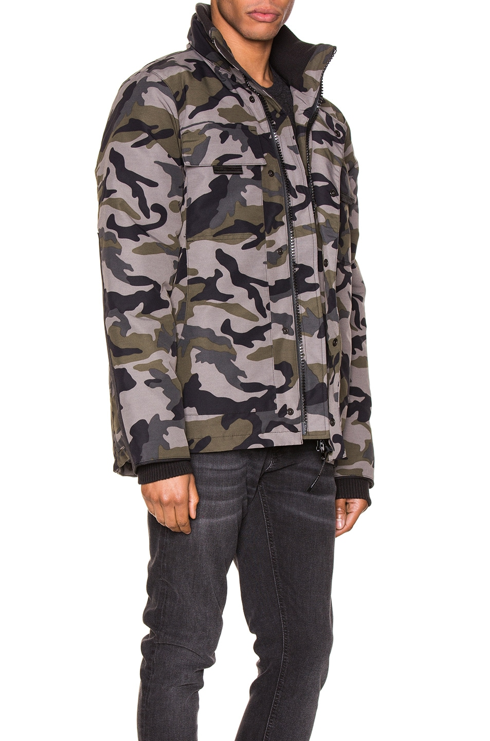 Image 3 of Canada Goose Forester Jacket in Coastal Grey Camo