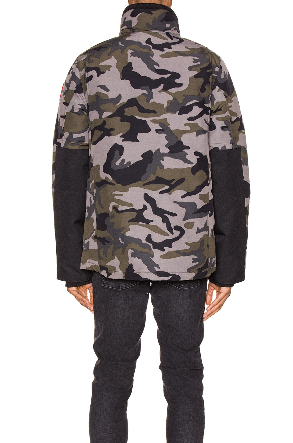 Image 5 of Canada Goose Forester Jacket in Coastal Grey Camo