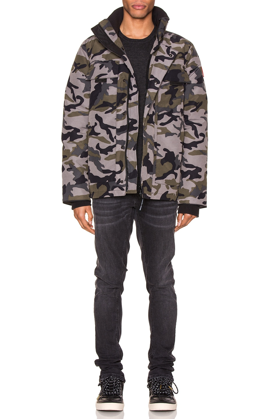 Image 6 of Canada Goose Forester Jacket in Coastal Grey Camo