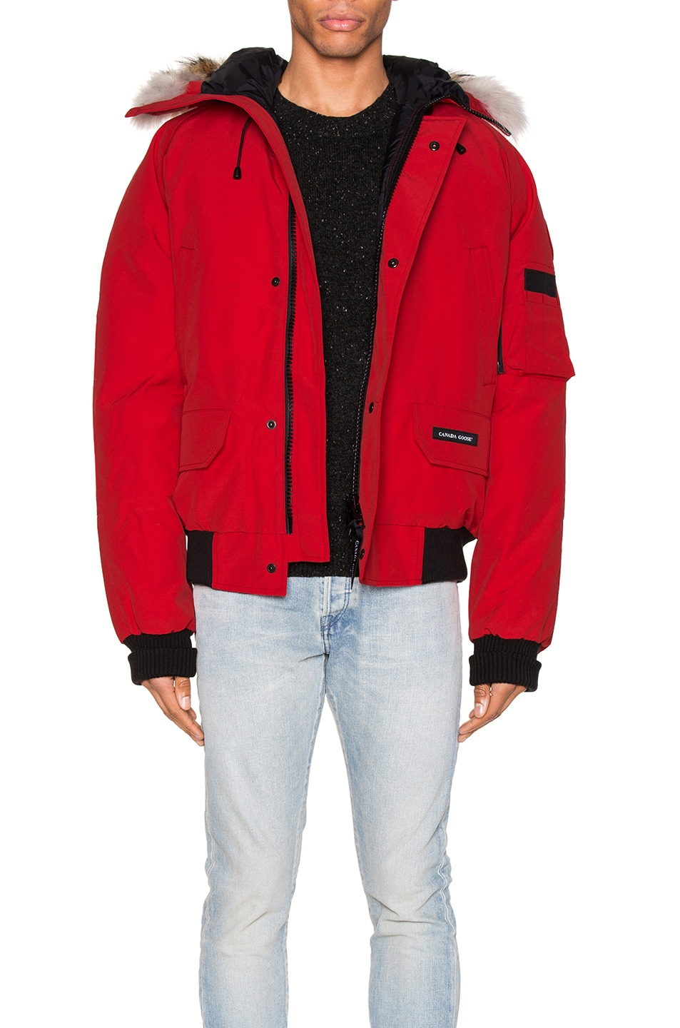 Image 1 of Canada Goose Chilliwack Bomber in Red