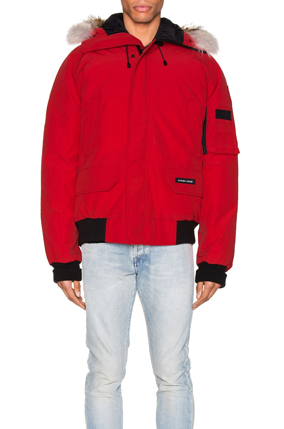 Image 2 of Canada Goose Chilliwack Bomber in Red