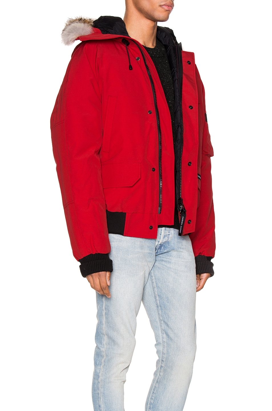 Image 3 of Canada Goose Chilliwack Bomber in Red