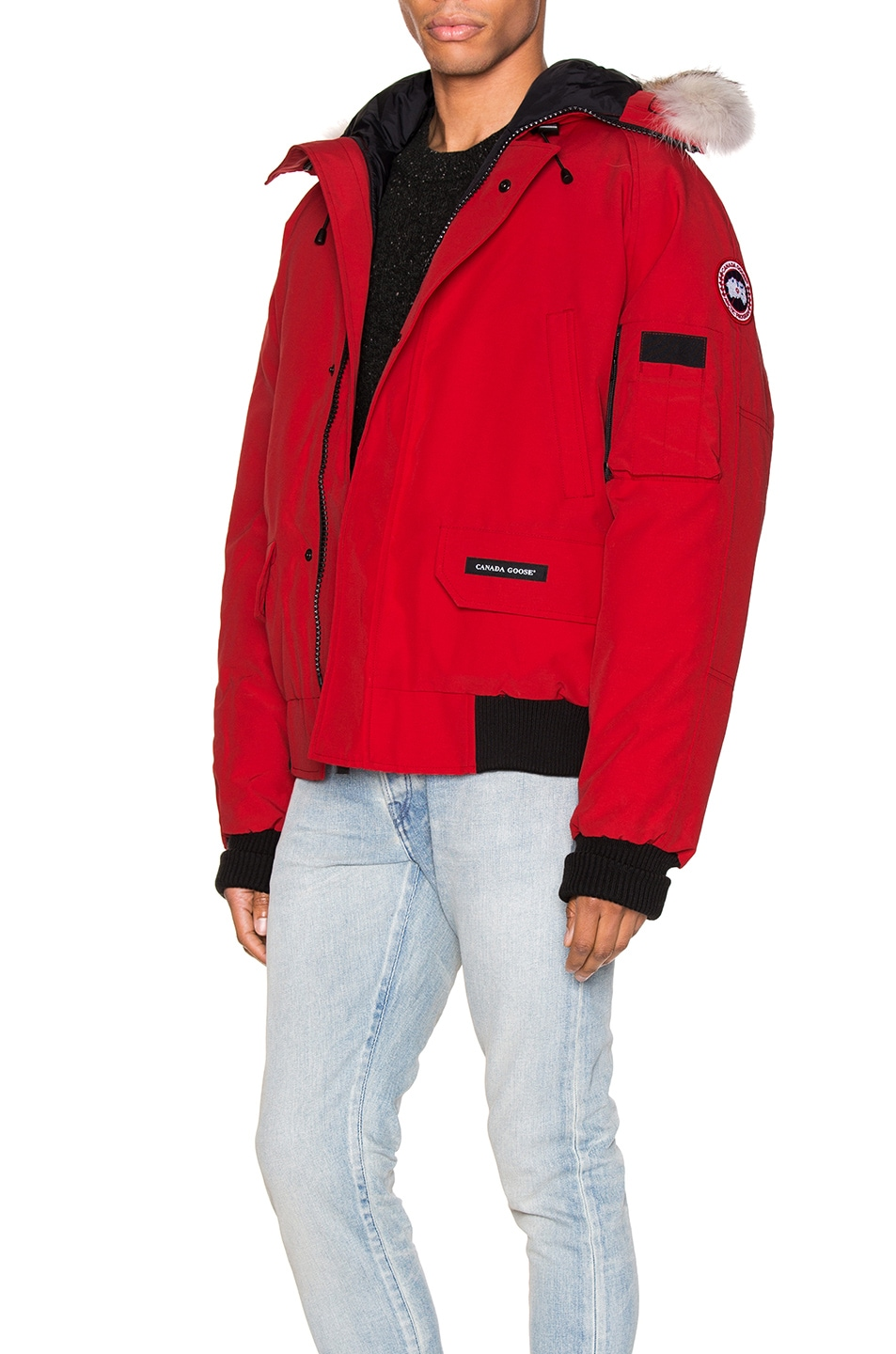 Image 4 of Canada Goose Chilliwack Bomber in Red