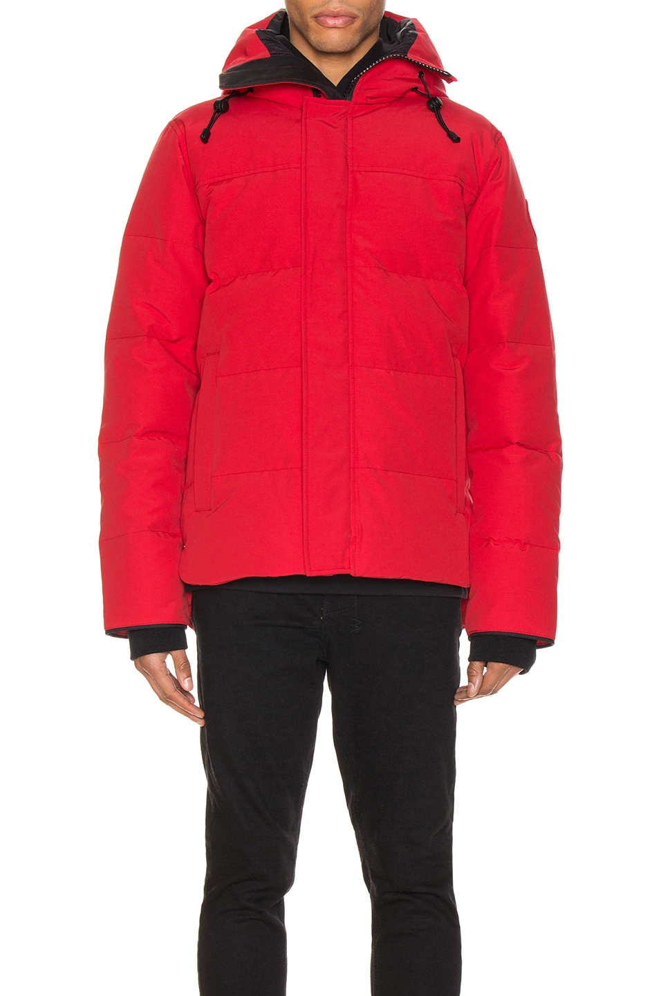 Image 2 of Canada Goose Macmillan Parka in Red