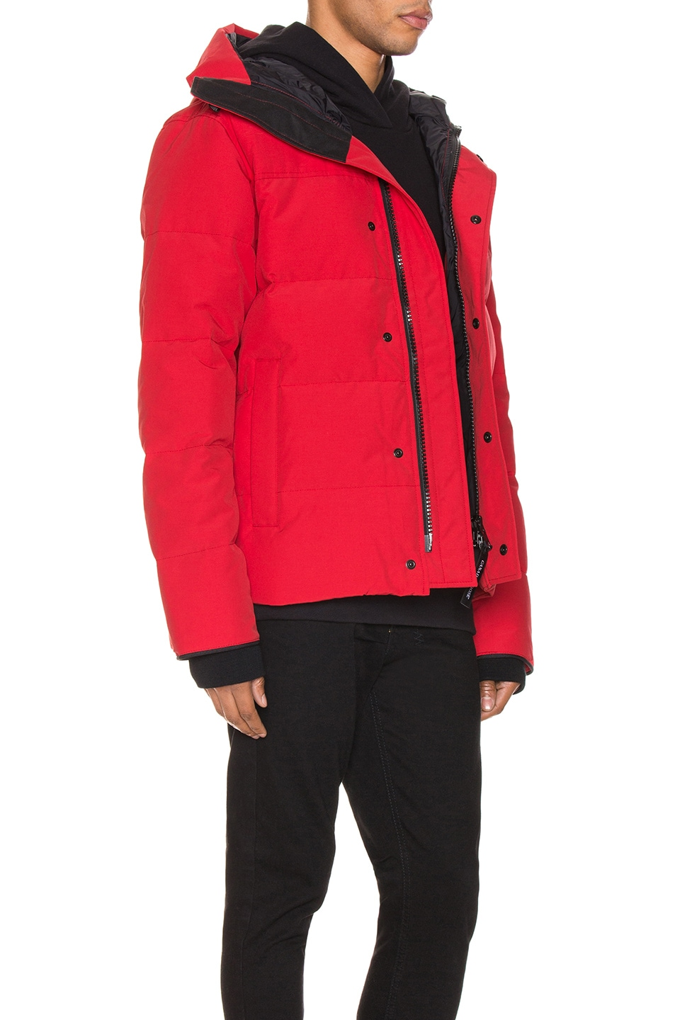 Image 3 of Canada Goose Macmillan Parka in Red