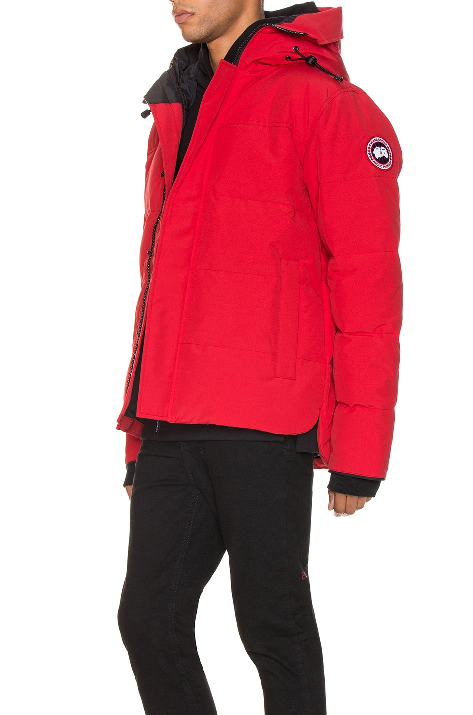 Image 4 of Canada Goose Macmillan Parka in Red