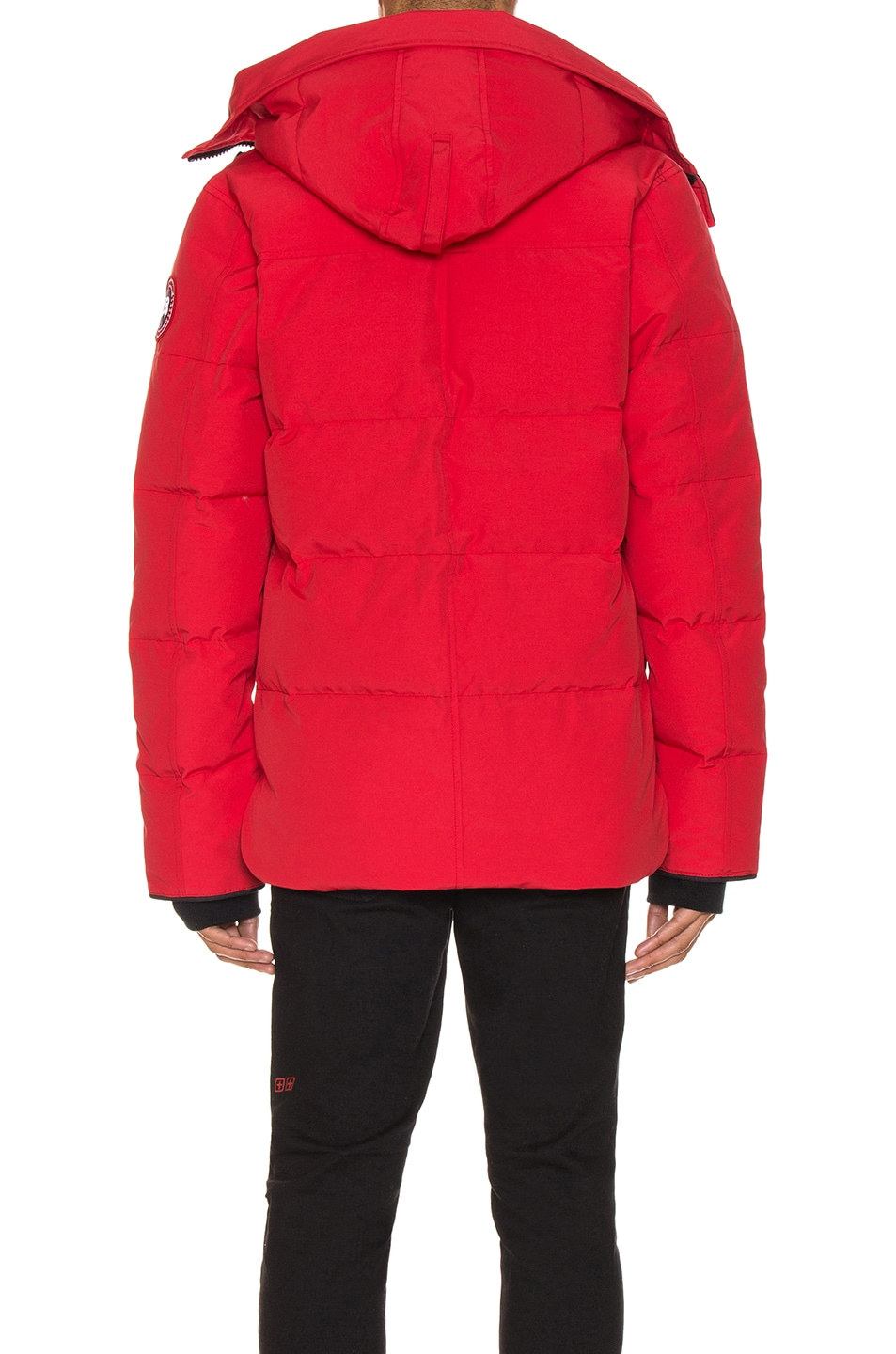 Image 5 of Canada Goose Macmillan Parka in Red