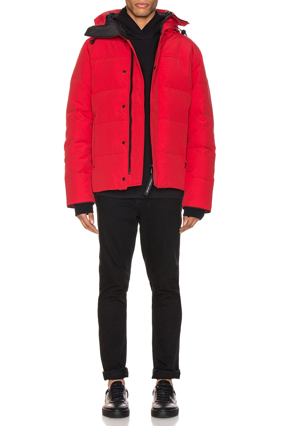 Image 6 of Canada Goose Macmillan Parka in Red