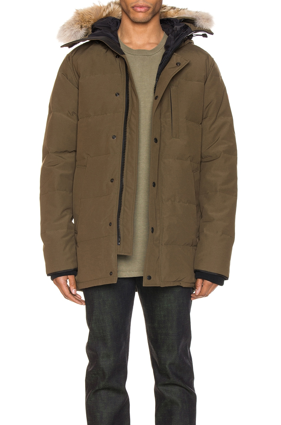 Image 1 of Canada Goose Carson Parka in Military Green